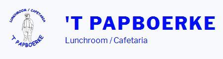 Lunchroom / Cafetaria 'T PAPBOERKE in Wouw